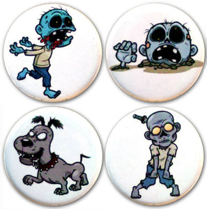 Buttonsmith® Zombies Tinker Top® Set – Made in USA – for use with Tinker Reel® Badge Reels