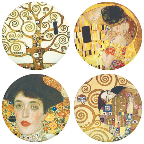 Buttonsmith® Gustav Klimt The Kiss Tinker Top Set