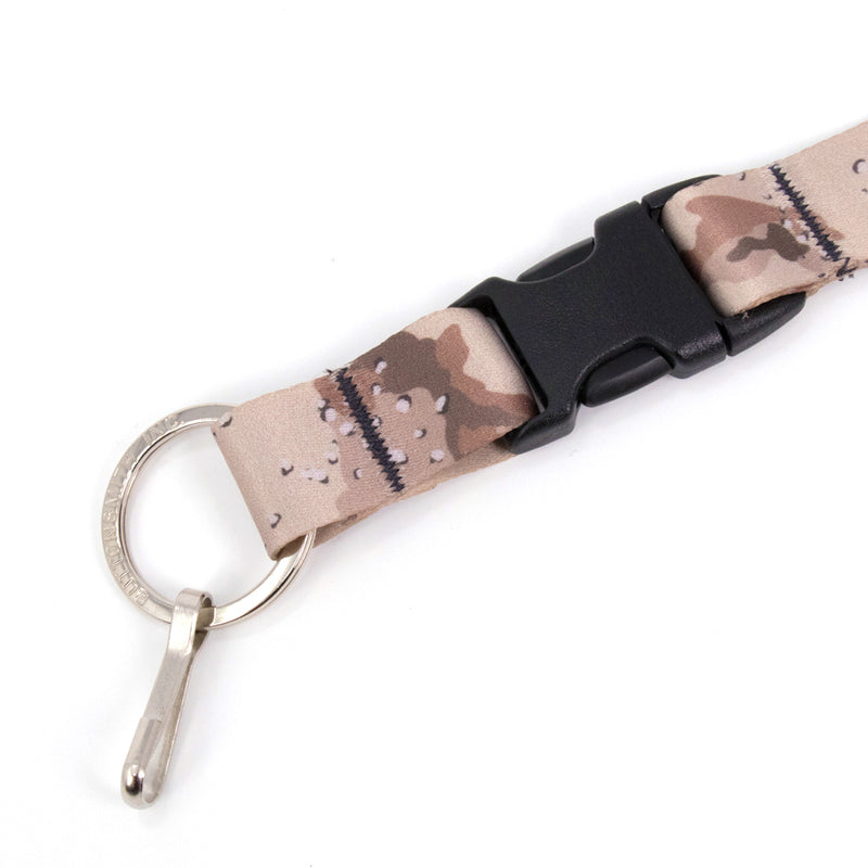Buttonsmith Desert Camo Custom Lanyard Made in USA - Buttonsmith Inc.