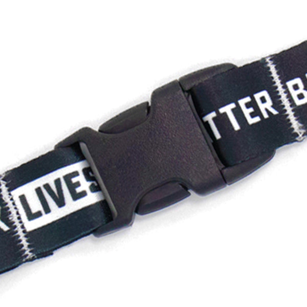 Buttonsmith Black Lives Matter Breakaway Lanyard Made in USA