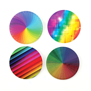 "Buttonsmith® Spectra 1.25"" Magnet Set - Made in the USA"