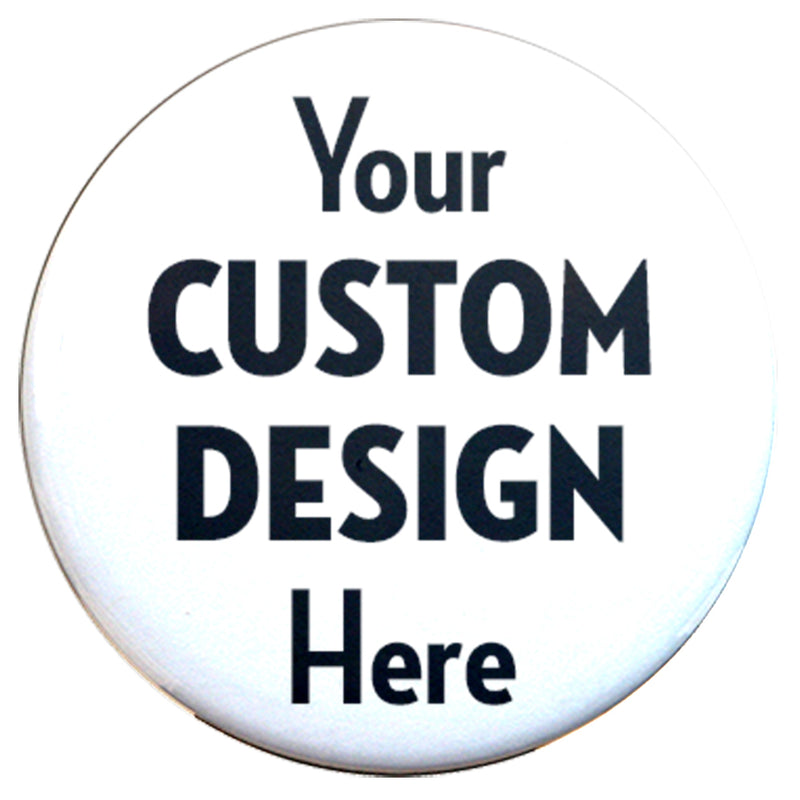 "Custom Magnets 3"" Round - Union made - Made in USA - Buttonsmith Inc."