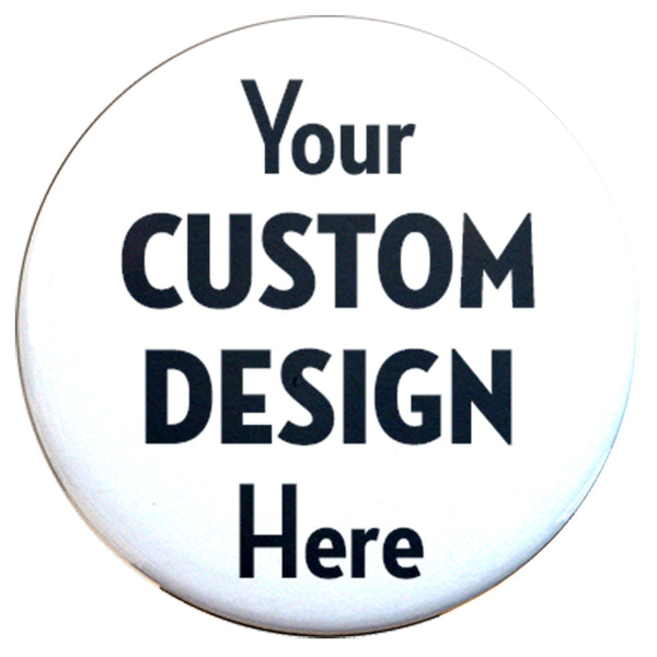 "Custom Magnets 3"" Round - Union made - Made in USA"