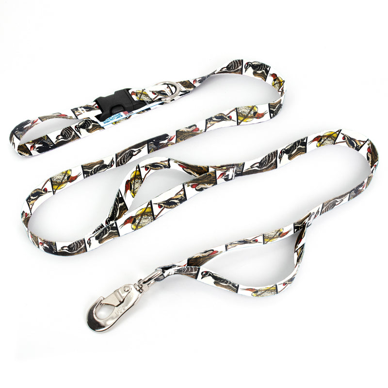 Audubon Woodpeckers Fab Grab Leash - Made in USA