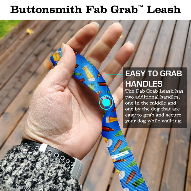 Beer Fab Grab Leash - Made in USA