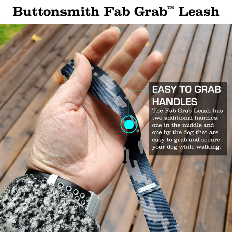 Urban Camo Fab Grab Leash - Made in USA