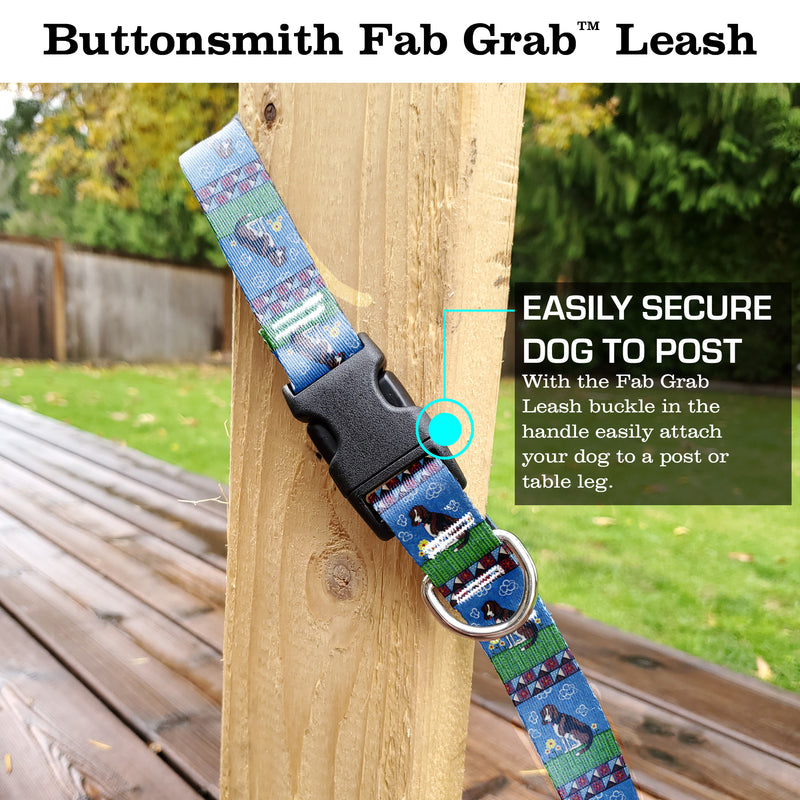 Rebecca McGovern Dog Fab Grab Leash - Made in USA
