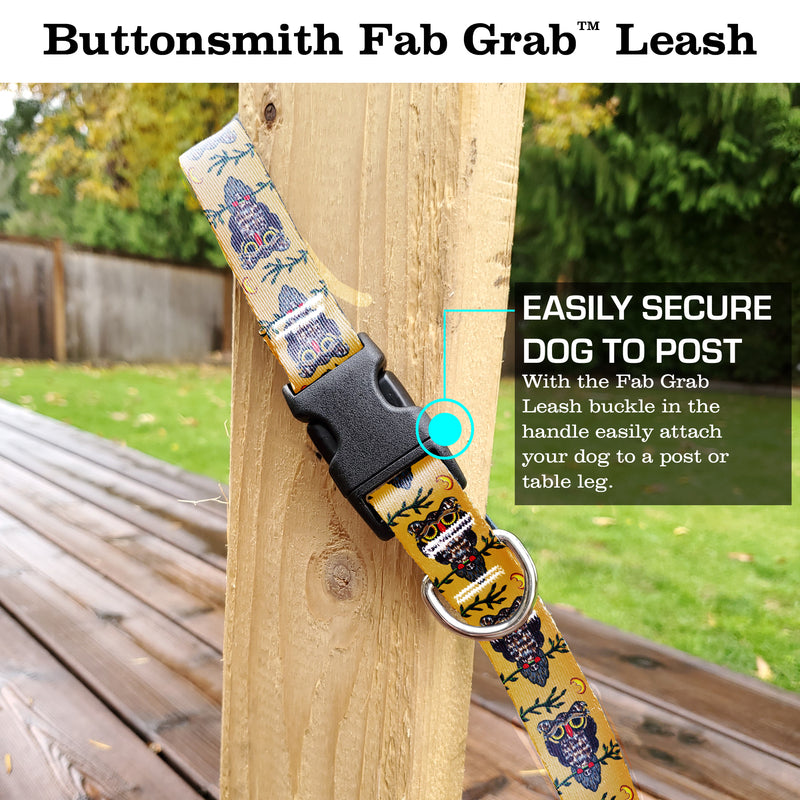 Rebecca McGovern Owl Fab Grab Leash - Made in USA