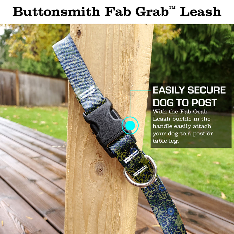 Morris Seaweed Fab Grab Leash - Made in USA