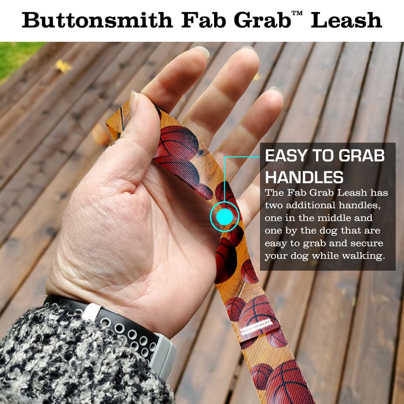Basketball Fab Grab Leash - Made in USA