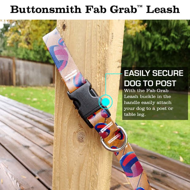 Volleyball Fab Grab Leash - Made in USA 1