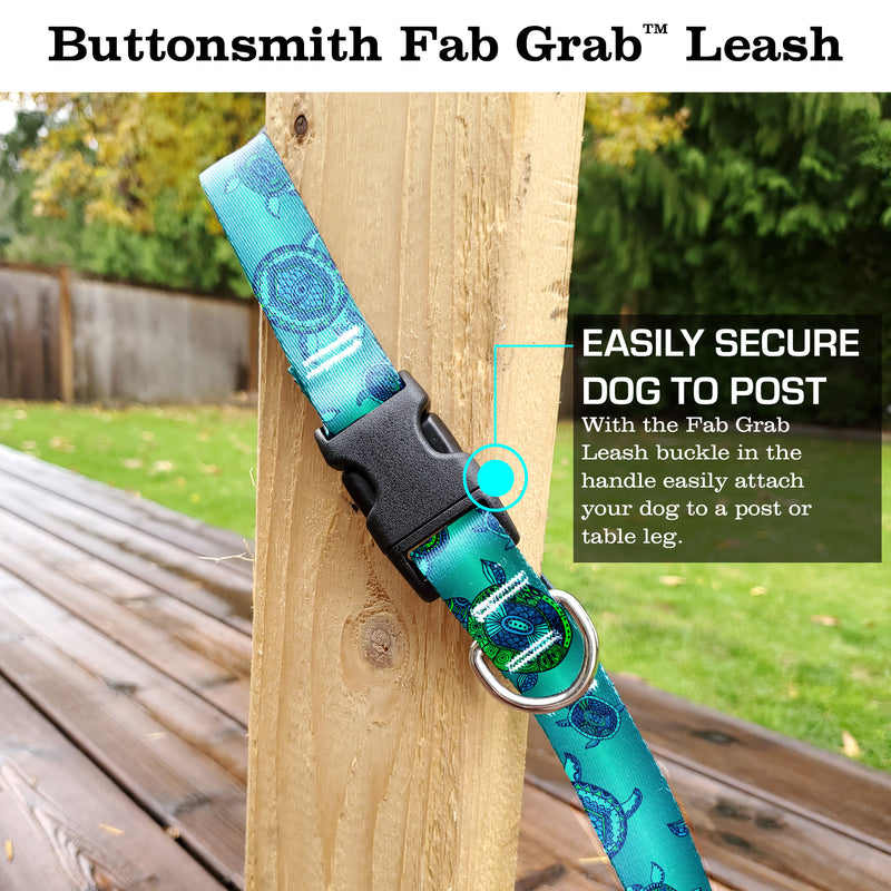 Turtles Fab Grab Leash - Made in USA