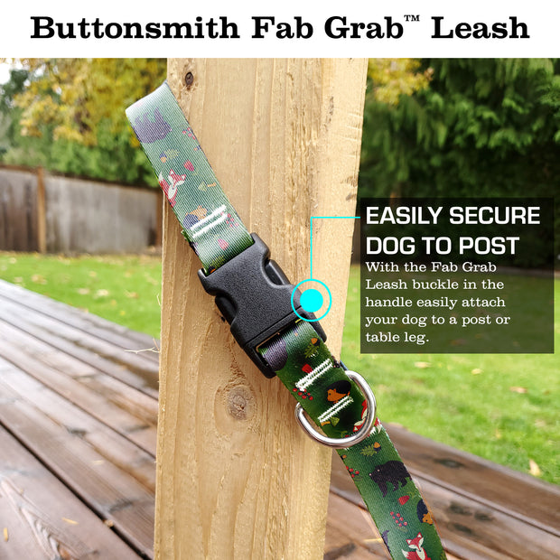 Woodland Creatures Fab Grab Leash - Made in USA 1