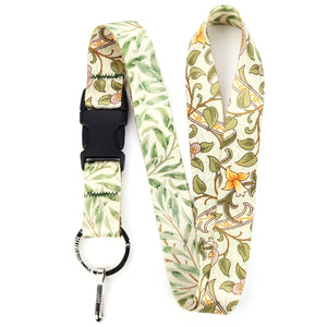 Buttonsmith William Morris Daffodils Lanyard - Made in USA
