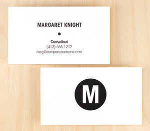 Custom Premium Business Cards - Dot