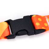Buttonsmith Orange Dots Lanyard