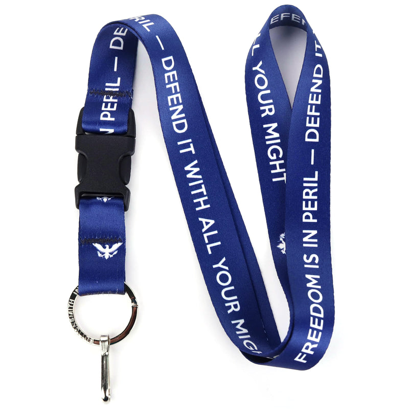 Buttonsmith Freedom Lanyard - Made in USA - Buttonsmith Inc.