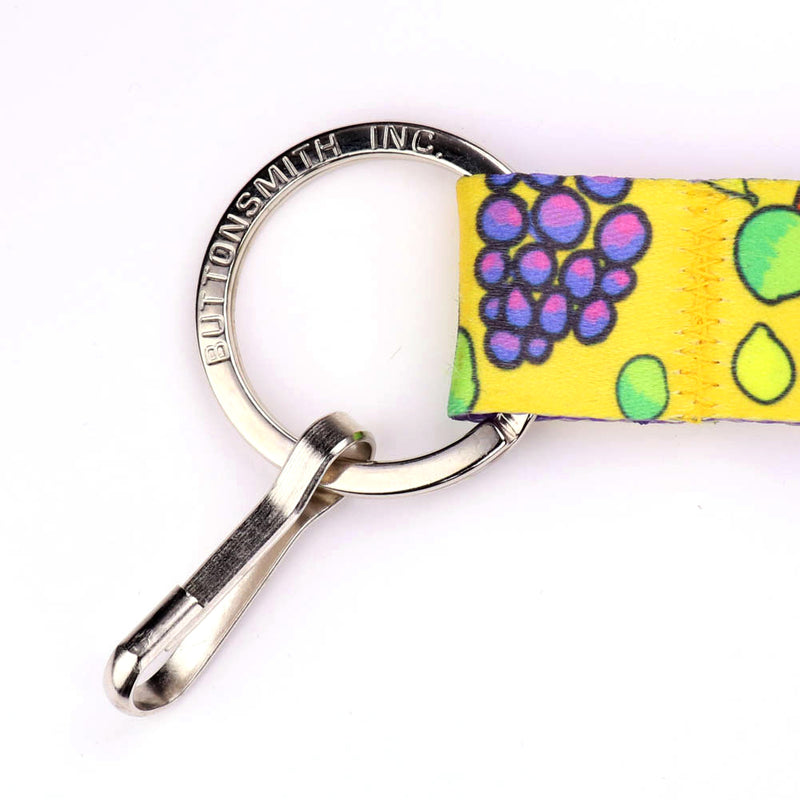Buttonsmith Fruit Frenzy Breakaway Lanyard - Made in USA - Buttonsmith Inc.
