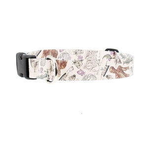 Buttonsmith Anatomy Dog Collar - Made in the USA