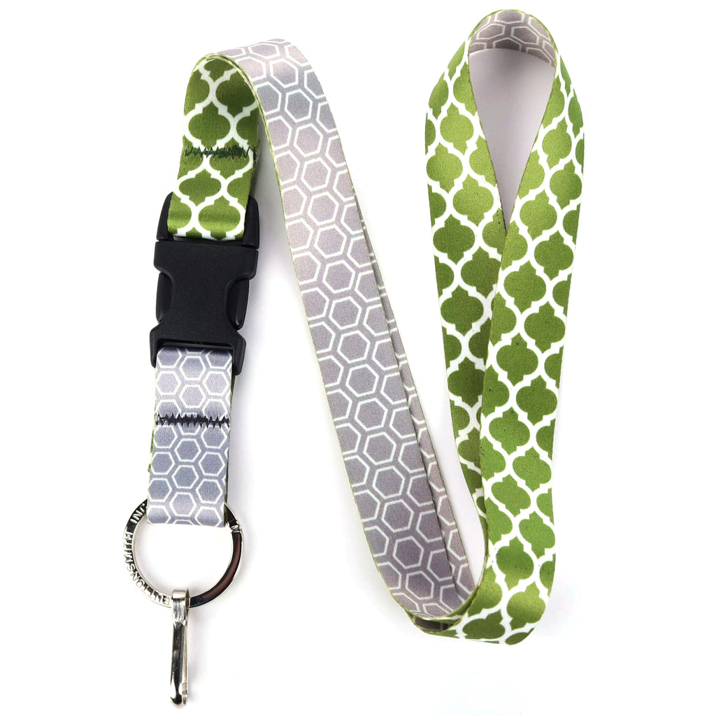 Buttonsmith Lattice Lanyard - Made in USA