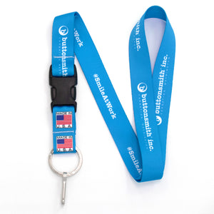 Buttonsmith Design Your Own Lanyard - Made in USA