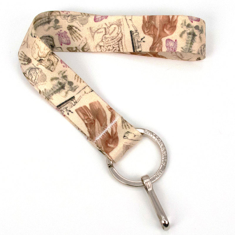 Buttonsmith Anatomy Wristlet Lanyard Made in USA - Buttonsmith Inc.