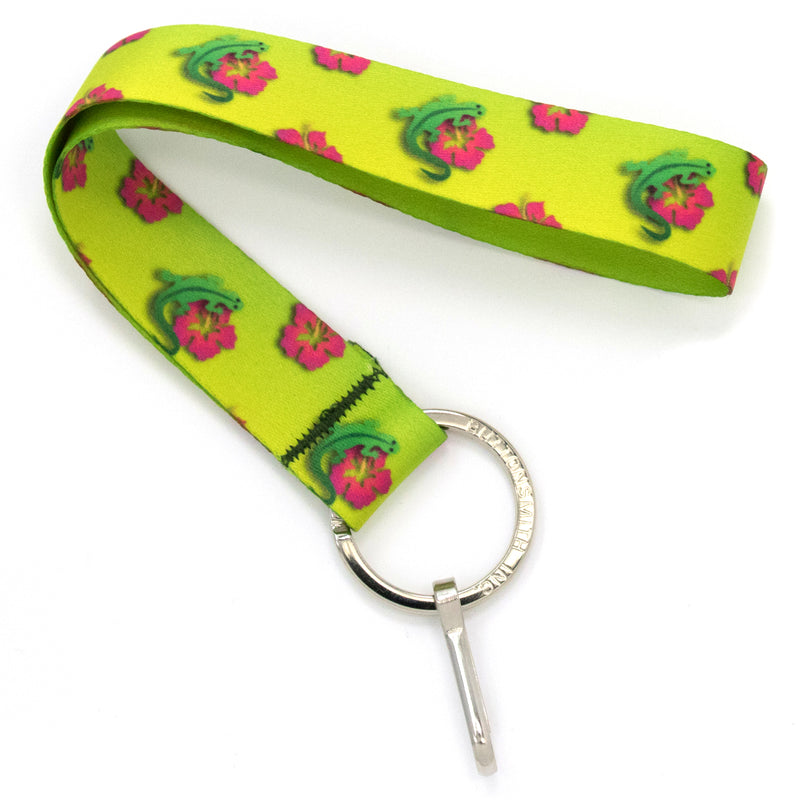 Buttonsmith Geckos Wristlet Lanyard Made in USA - Buttonsmith Inc.