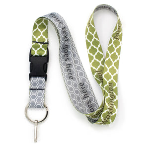 Buttonsmith Lattice Custom Lanyard - Made in USA