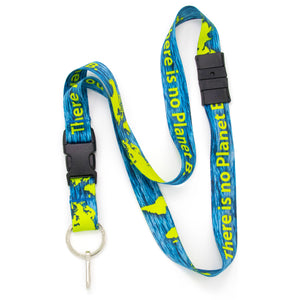 Buttonsmith Planet B Breakaway Lanyard - Made in USA