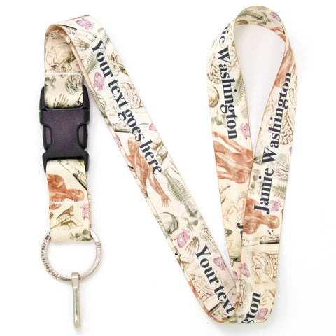 Buttonsmith Anatomy Custom Lanyard - Made in USA
