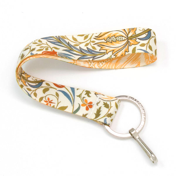 Buttonsmith Morris Flora Wristlet Lanyard - Made in USA