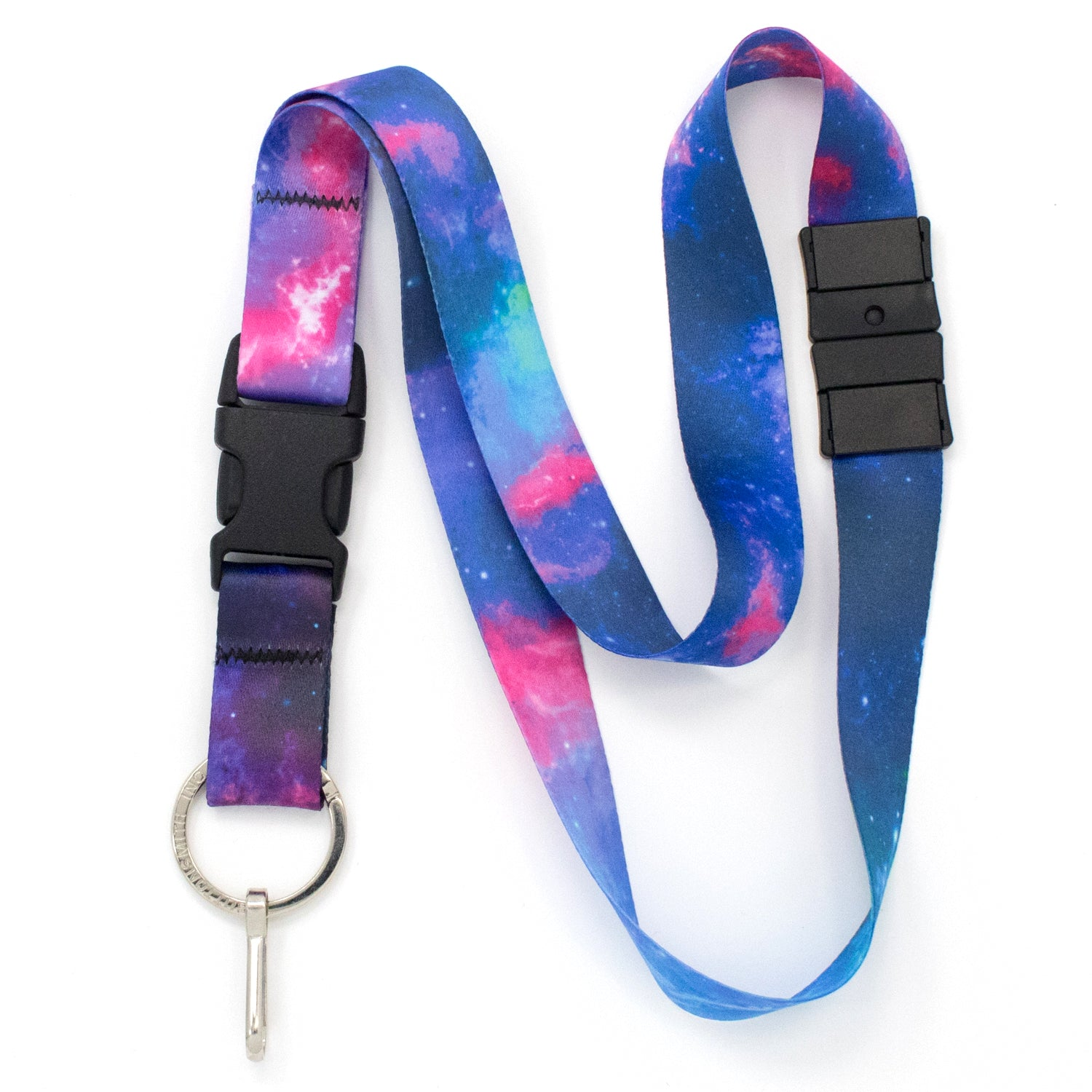 Buttonsmith Nebula Breakaway Lanyard - Made in USA