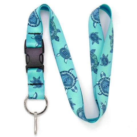 Buttonsmith Turtles Lanyard - Made in USA