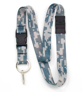 Buttonsmith Urban Camo Breakaway Lanyard - Made in USA