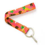 Buttonsmith Tiki Drink Wristlet Lanyard Made in USA