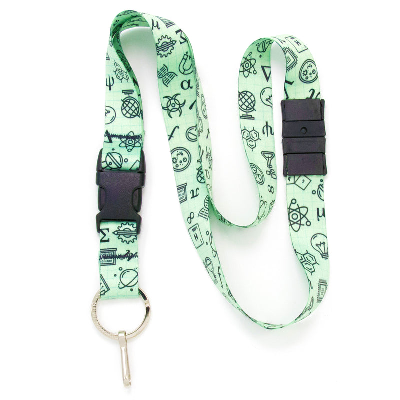 Buttonsmith STEM Breakaway Lanyard - Made in USA - Buttonsmith Inc.