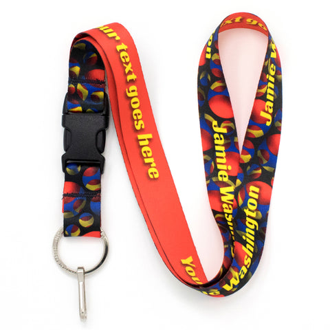 Buttonsmith Holes Custom Lanyard - Made in USA
