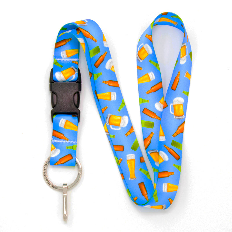 Buttonsmith Beer Lanyard Made in USA - Buttonsmith Inc.