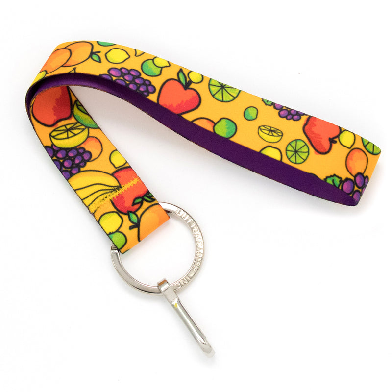 Buttonsmith Fruit Frenzy Wristlet Lanyard Made in USA - Buttonsmith Inc.