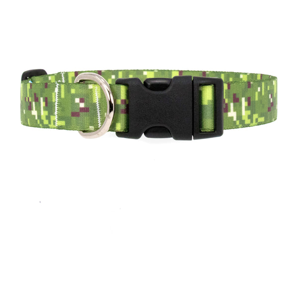 Buttonsmith PixelLand Camo Dog Collar - Made in USA