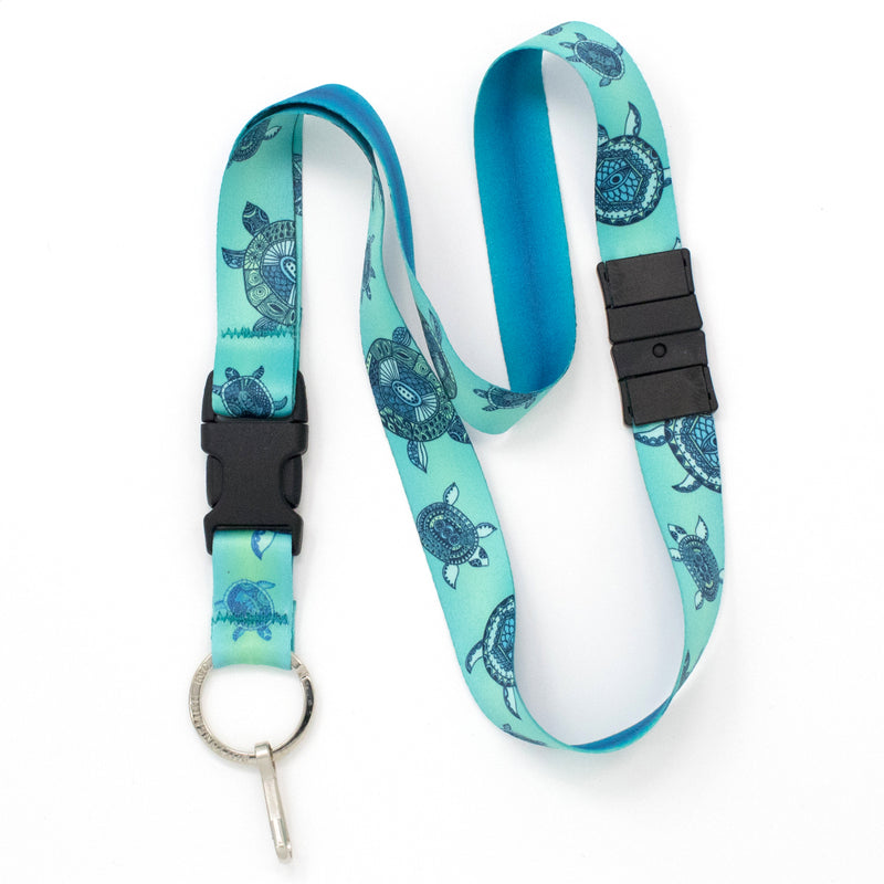 Buttonsmith Turtles Breakaway Lanyard - Made in USA - Buttonsmith Inc.