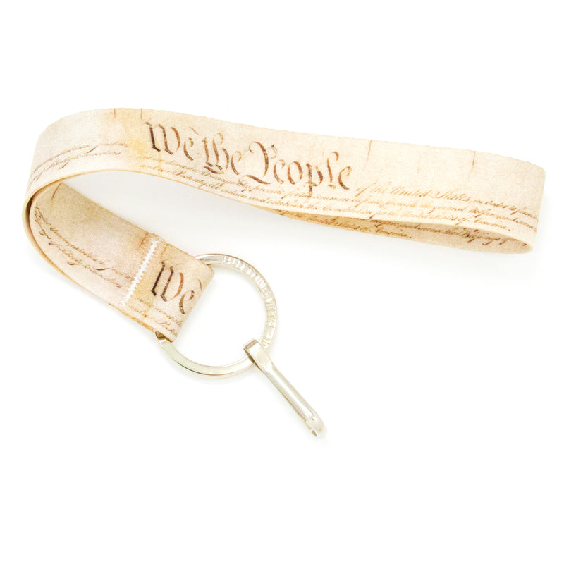 Buttonsmith We The People Wristlet Lanyard Made in USA - Buttonsmith Inc.
