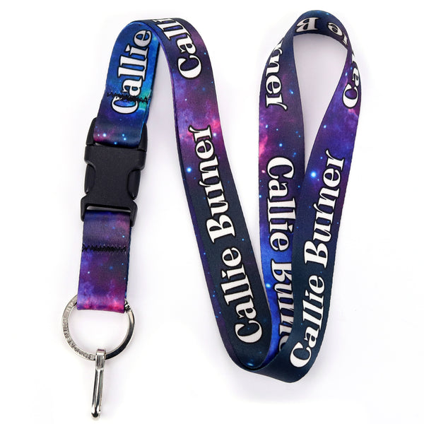 Buttonsmith Nebula Custom Lanyard - Made in USA