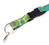 Buttonsmith Paisley Lanyard - Made in USA