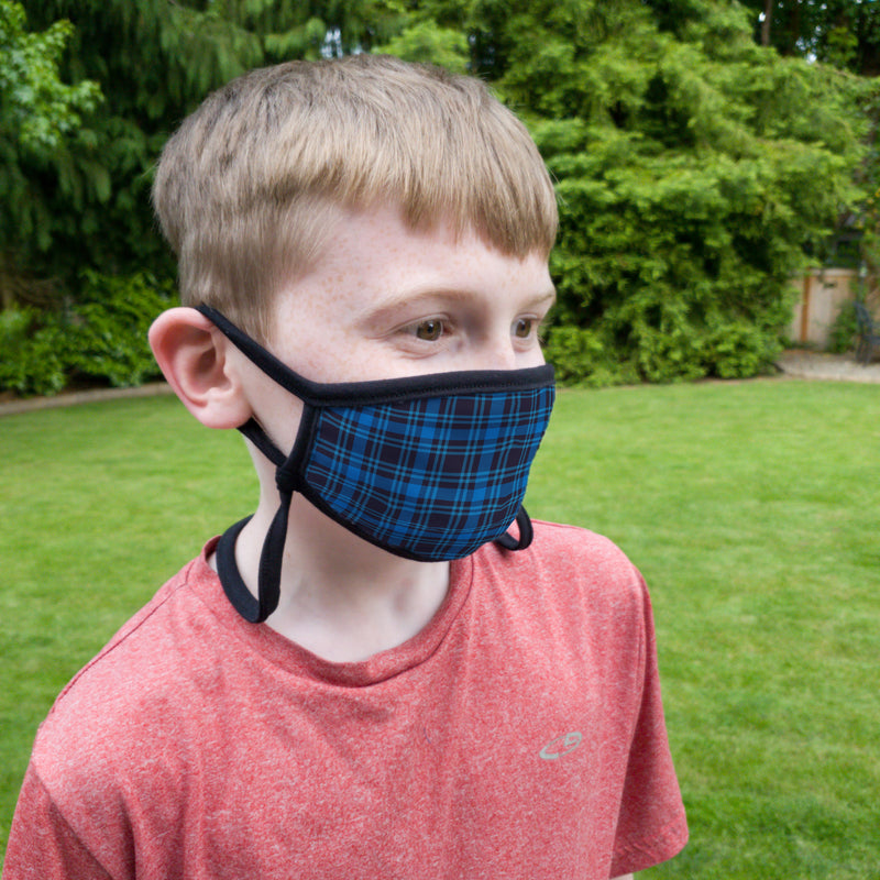 Buttonsmith Dad Shirt Child Face Mask with Filter Pocket - Made in the USA - Buttonsmith Inc.