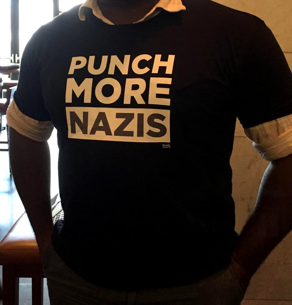 Punch More Nazis Shirt