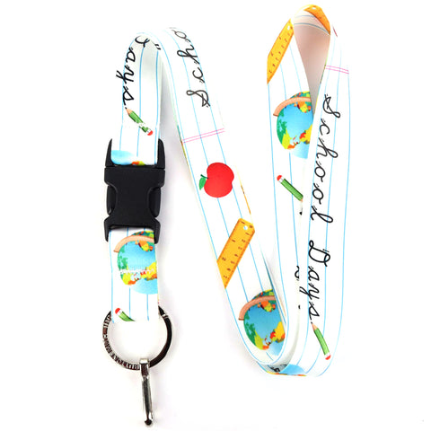 Buttonsmith School Days Lanyard - Made in USA