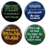 "Buttonsmith® 1.25"" Miscellaneous Refrigerator Magnets - Set of 4"