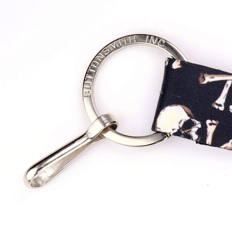 Buttonsmith Skulls Wristlet Lanyard Made in USA - Buttonsmith Inc.
