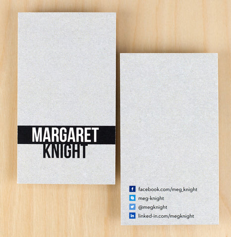 Custom Premium Business Cards - So Social